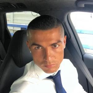 Nouvelle coiffure Cristiano Ronaldo