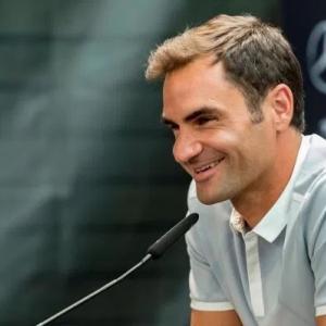 Nouvelle coiffure tennisman Roger Federer
