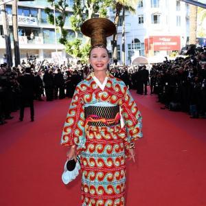 Coupe de cheveux Victoria Abril Cannes 2017
