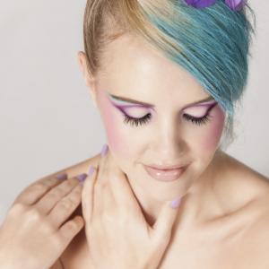maquillage pour cheveux