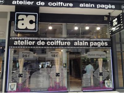 Coiffeur Atelier de Coiffure Alain Pages voir le détail