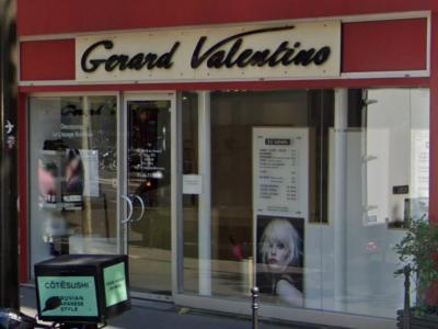 Coiffeur Gerard Valentino voir le détail