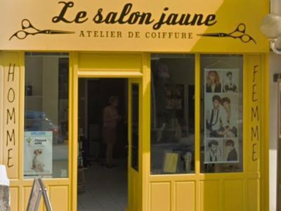 Coiffeur Salon Jaune voir le détail