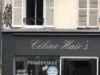 Coiffeur Céline hair's voir le détail