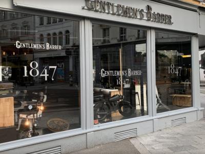 Coiffeur Gentlemen's Barber 1847 voir le détail