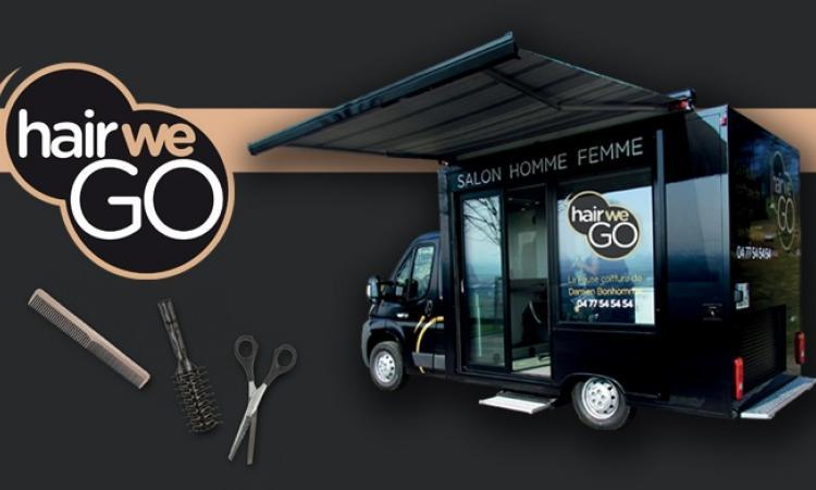 le concept hair we go un salon de coiffure mobile actualit du 25 05 2016. Black Bedroom Furniture Sets. Home Design Ideas