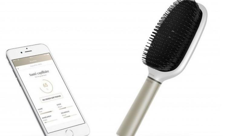 brosse a cheveux connectee l'oreal