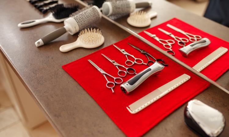 matériel salon de coiffure