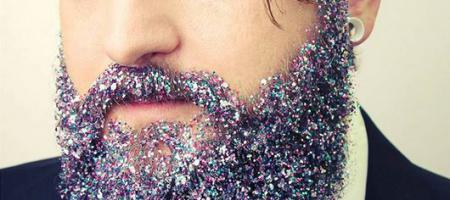 barbe glitter beard