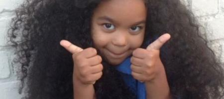 longs cheveux petite fille belge six ans