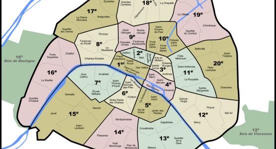Coiffeur de Paris triés par arrondissement