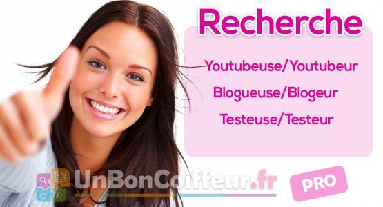 Recherche youtubeuse coiffure