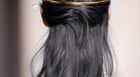 coloration cheveux gris acier