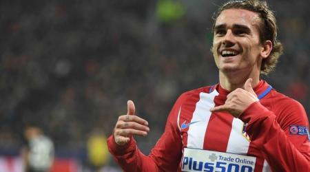 cheveux longs antoine griezmann footballeur
