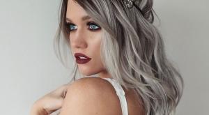 la couleur de cheveux gris toujours la mode - Coloration Cheveux Gris Cendr