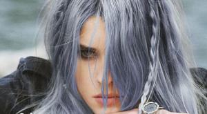 Tendance des cheveux gris