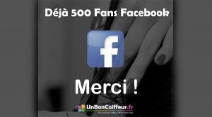 500 Fans Facebook ça se fête