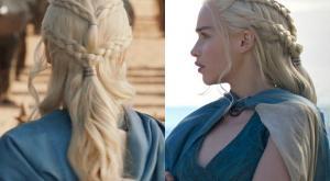 Coiffures Daenerys GOT