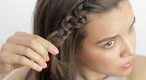 tresses cheveux courts