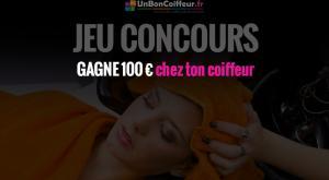 jeu concours 100 euros chez le coiffeur