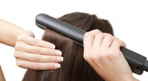 idées coiffures avec un fer à lisser