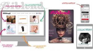 le magazine Biblond pour les professionnels de la coiffure