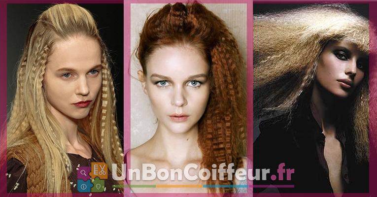 La Coiffure Cheveux Gaufr S Fait Son Come Back Actualit Du 19 06 2016