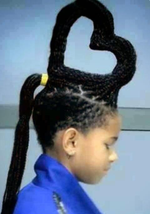 25 coiffures rigolotes pour enfants mais aussi pour les. Black Bedroom Furniture Sets. Home Design Ideas