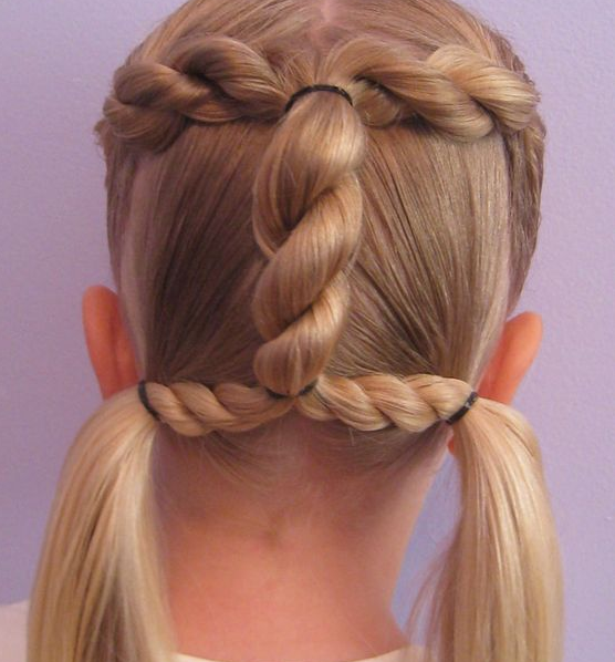 Modèles de coiffure pour nos petites filles - Actualité du 20/04/2016