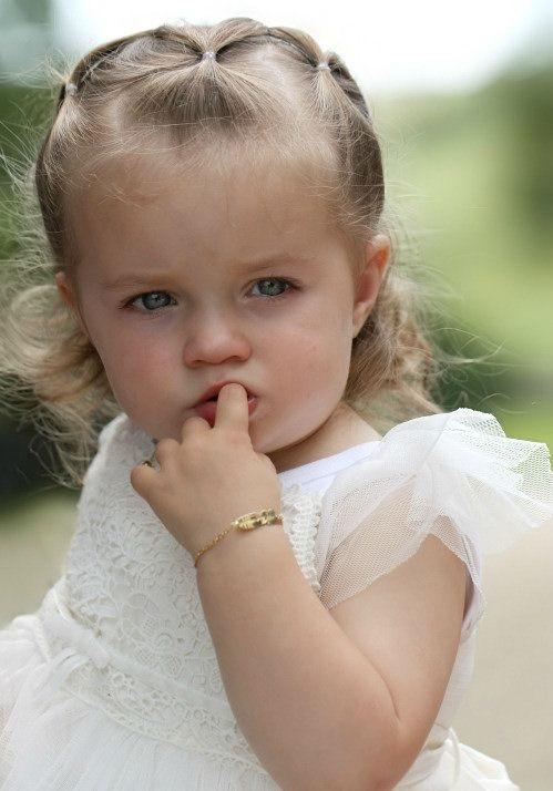 Images de bébé fille sonogramme