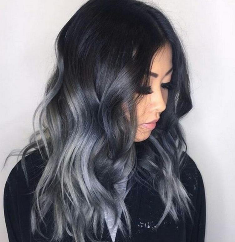 couleur cheveux gris acier - Coloration Grise