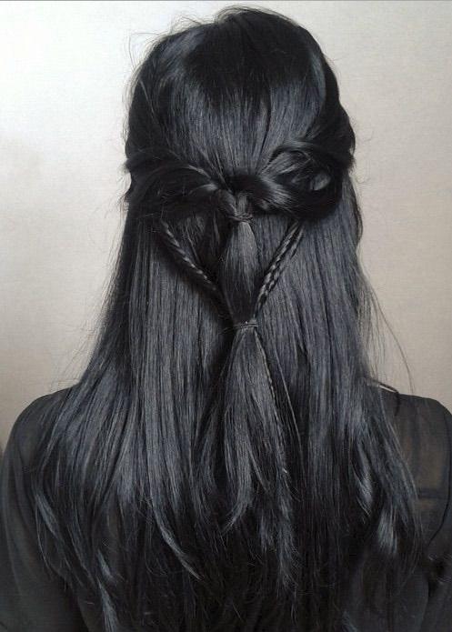Coloration gris acier : Pour de sublimes cheveux gris ...