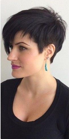 Asymetrique Tres Cheveux Court Coupe Courte Femme | Coiffures Cheveux Longs