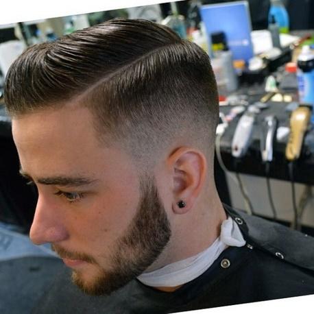 coupe de cheveux homme barbier