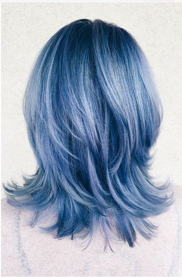Denim Hair Color Nouvelle Tendance De Ce Printemps 20