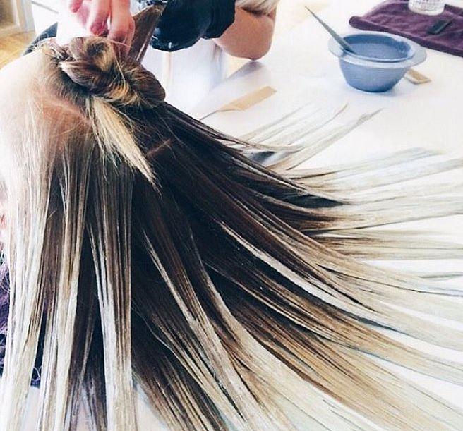 Fluid hair painting la nouvelle coloration tr s tendance for Fluid hair painting