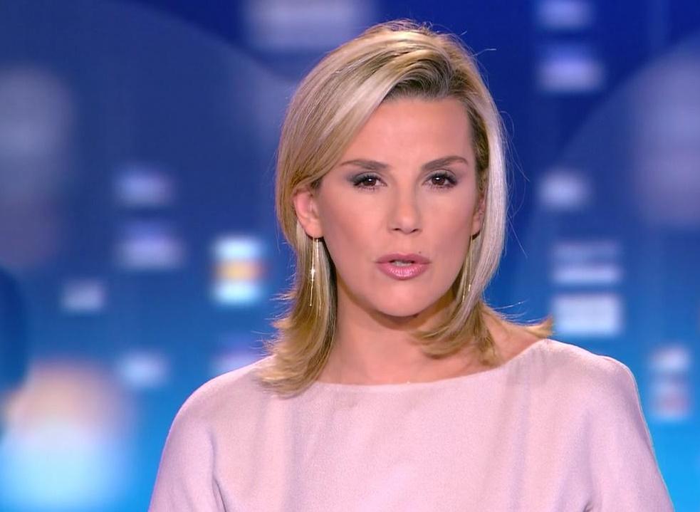 nouveau style capillaire pour laurence ferrari : la blonde change