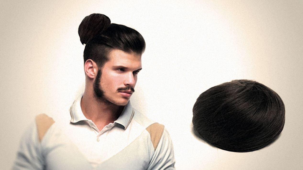 la tendance man bun le nouveau chignon bun pour homme. Black Bedroom Furniture Sets. Home Design Ideas