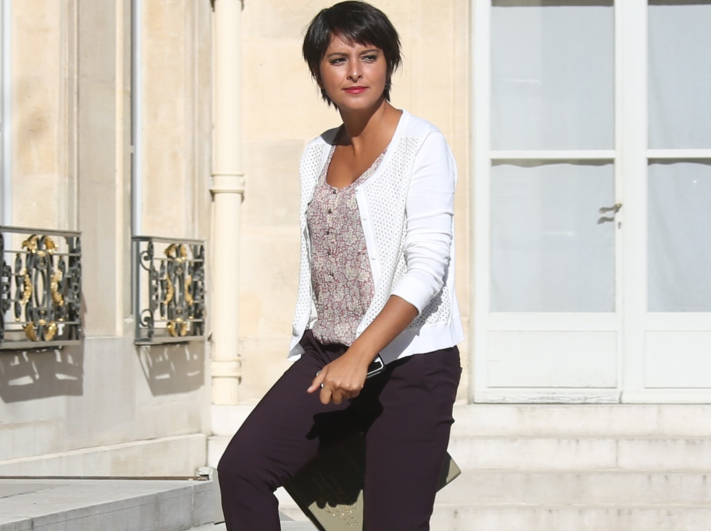 najat vallaud-belkacem change de coupe de cheveux pour la rentr u00e9e    08  2016