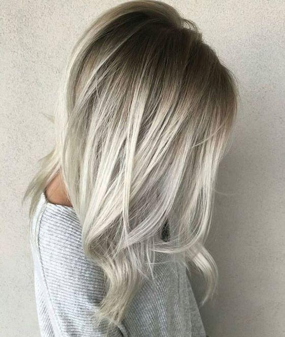 Le smoky hair v ritable maquillage pour les cheveux actualit du 19 04 2017 - Cheveux blond blanc ...