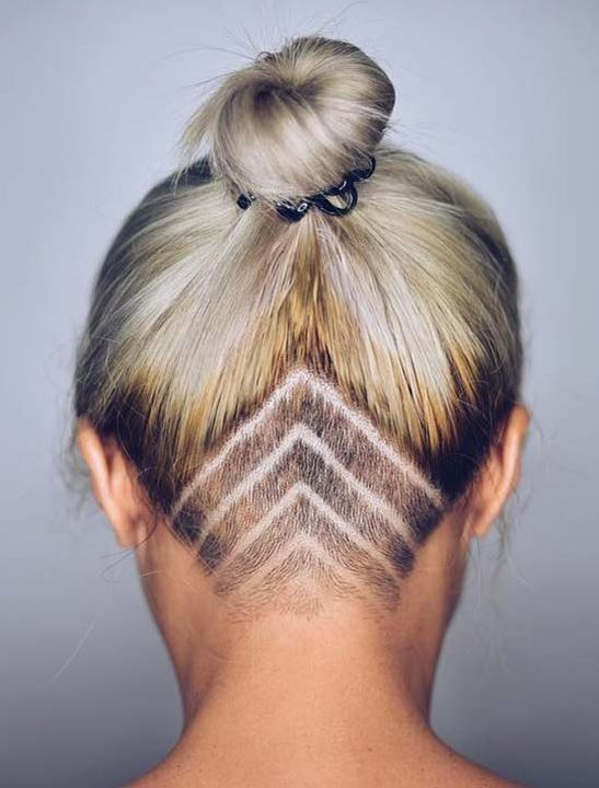 coue cheveux undercut tatoo