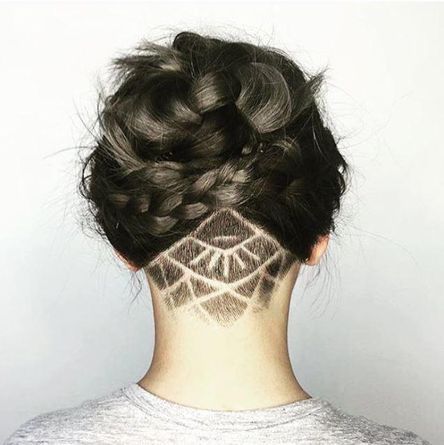 Undercut tatoo 10 mod les de cette nouvelle tendance qui vont vous faire sauter le pas - Coupe undercut femme ...